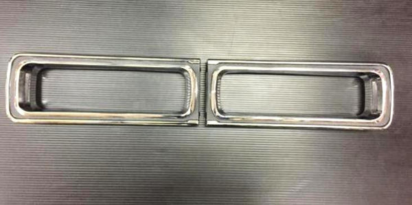 1969 Skyline Hakosuka tail lamp bezel set