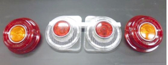 Skyline Kenmeri Euro Tail lamp lense set