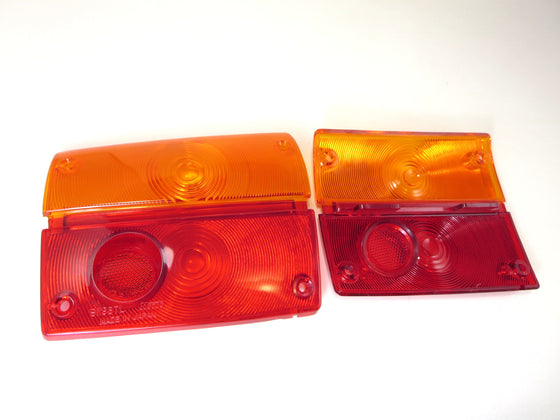 Toyota Sports 800 tail light lens set NOS
