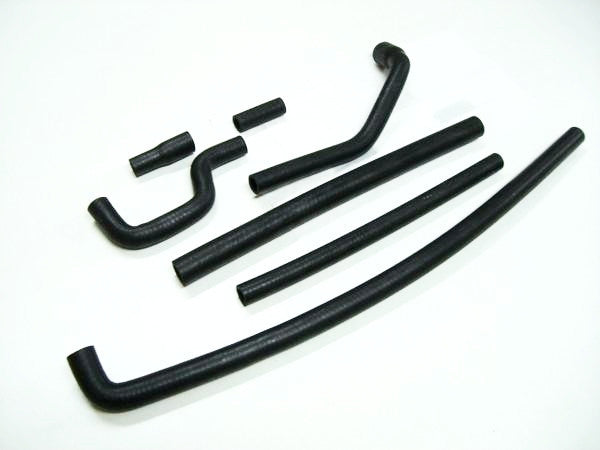 Complete heater hose set 7pc for Skyline Hakosuka