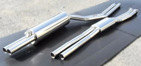 Stainless steel performance dual exhaust system for Kenmeri  Laurel (NO INT'L SHIPPING)