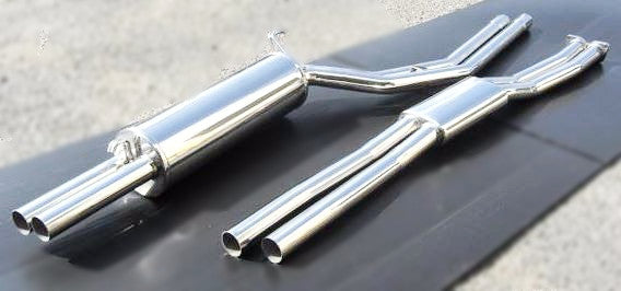 Stainless steel performance dual exhaust system for Kenmeri (NO INT'L SHIPPING)