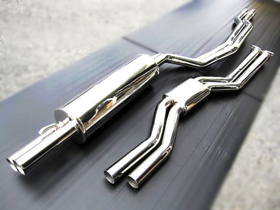 Nissan Skyline Hakosuka stainless steel performance dual exhaust system (NO INT'L SHIPPING)