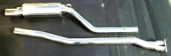 Nissan Skyline Hakosuka stainless steel performance single exhaust system (NO INT'L SHIPPING)
