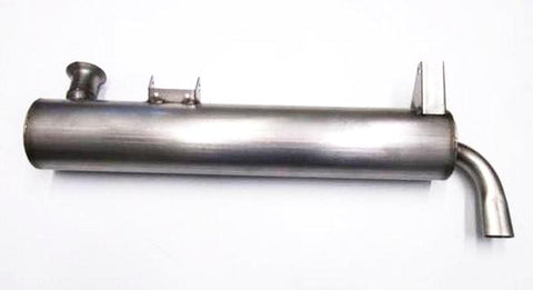 Stainless steel muffler for Subaru 360 sedan