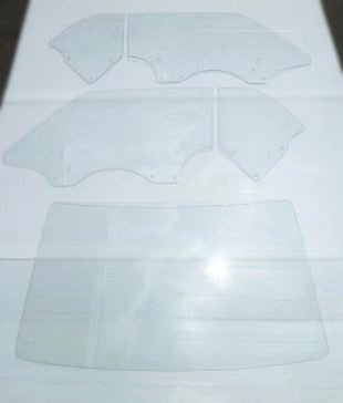 Clear Glass 5 pc set for Skyline Kenmeri 2D HT  (NO INT'L SHIPPING)