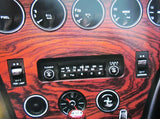 Switch panel decal set for Toyota 2000GT Late Type