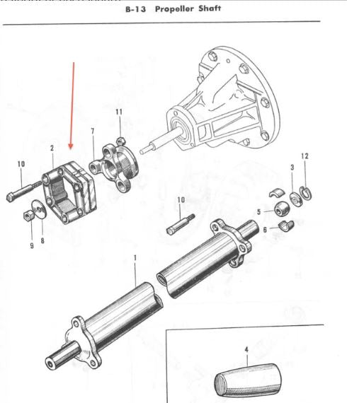 Drive Shaft Flexible Joint for Honda S600