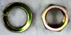 Pitman arm nut & washer set  for Skyline Kenmeri / Laurel