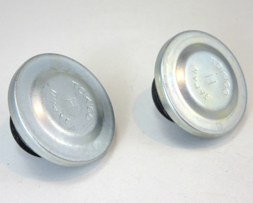 Brake master cylinder cap set for Datsun 240Z NOS