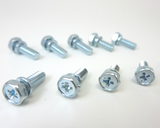 Brake / clutch line holder bolts x10 set