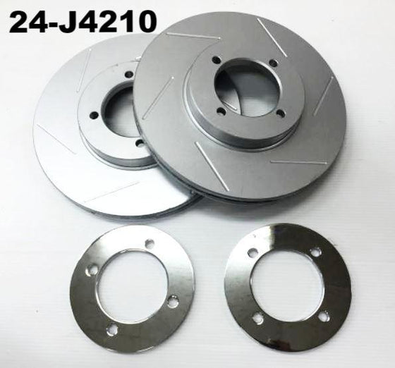 Ventilated rotor set for MK63 calipers JDM Fairlady ZG / Z432