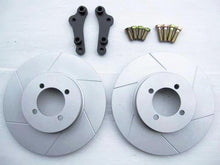 Reproduction MK63 slotted-vent front brake rotor kit for Skyline Hakosuka / Kenmeri 280mm