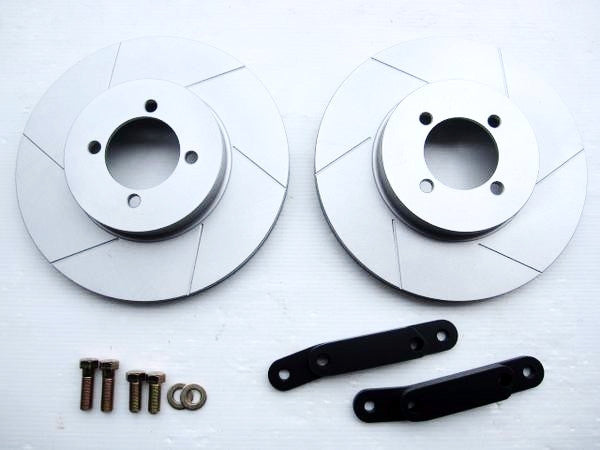 Mazda RX7 FC front brake conversion kit for Skyline Hakosuka / Kenmeri