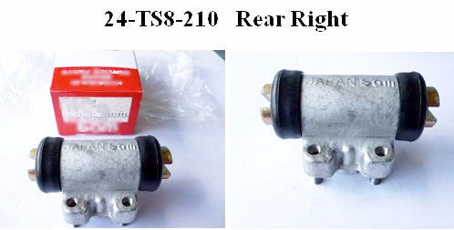 Reproduction Rear brake wheel cylinder for Toyota Sports 800