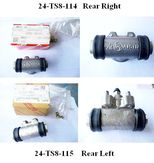 Rear brake wheel cylinder for Toyota Sports 800