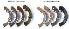 Front / Rear brake shoe set for Toyota Sports 800