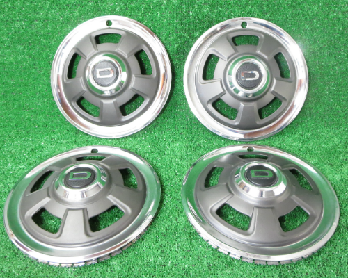 Wheel cover hub cap set Datsun 240Z Series 1 NOS