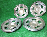 Wheel hub cap set for 1971-'76 Datsun 240Z, 260Z, and 280Z, NOS