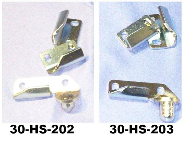 Hood lock striker set for Honda S600 / S800 RHD