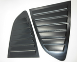 7 fin quarter glass louver set for Datsun 240Z 260Z 280Z, NOS