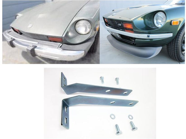 280Z to 240Z Front bumper conversion bracket kit for US 1974-78 Datsun 260Z 280Z