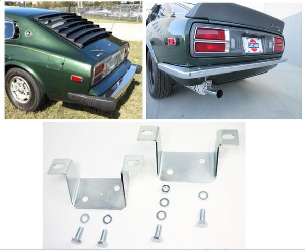 280Z to 240Z rear bumper bracket conversion kit for US 1974-78 Datsun 260Z  280Z