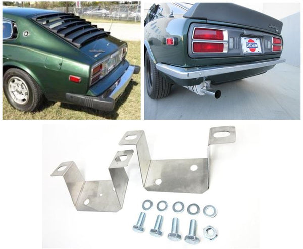 280Z to 240Z Light weight  Version rear bumper bracket conversion kit for US 1974-78 Datsun 260Z 280Z