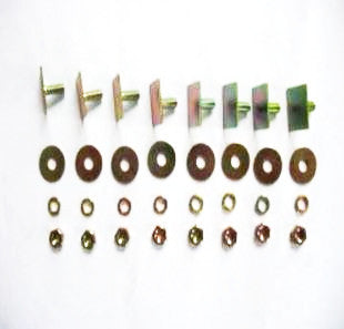 Hood molding bracket hardware set for Prince S50 / S54 / S57