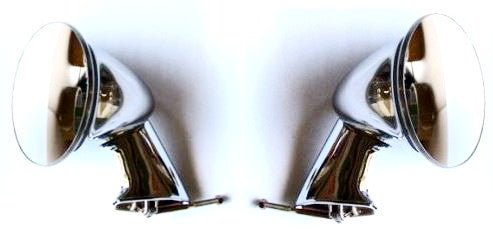Fender Mirror set for Skyline Hakosuka 1969 Chrome / 1970 Black