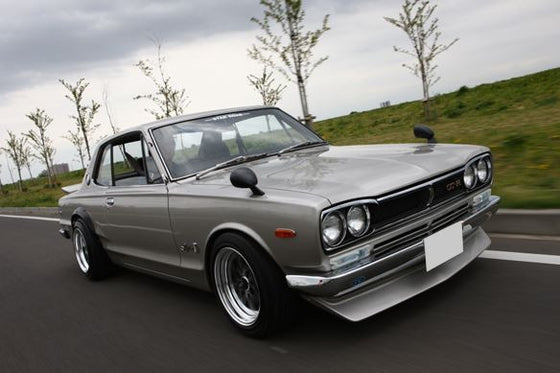 "Rear ""R"" type spoiler for Skyline Hakosuka (NO INT'L SHIPPING)"