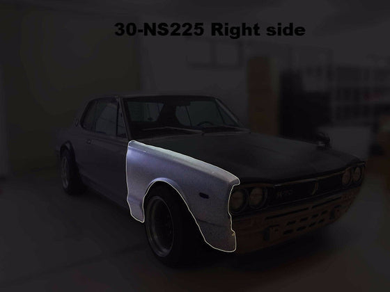 Nissan Skyline Hakosuka Front fender steel (NO INT'L SHIPPING)