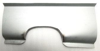 Muffler cut-out section panel for Skyline Hakosuka