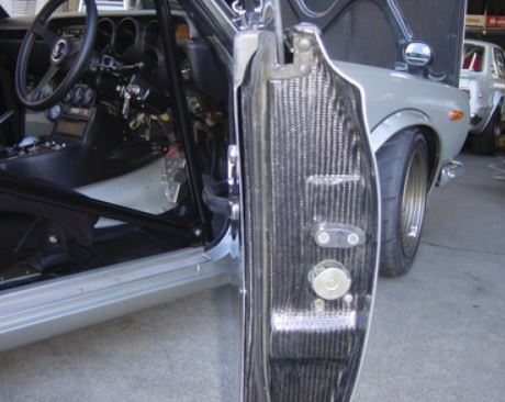 Dry Carbon Fiber Door set by RS Start for Nissan Hakosuka 2D HT (No international shipping)