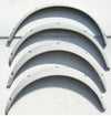 Slightly larger than OEM type fender flare set for Corolla TE27 (NO INT'L SHIPPING)