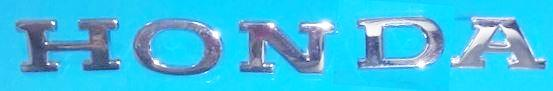 Honda S800 Trunk Emblem Reproduction