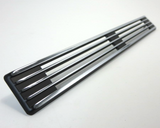 Rear hatch vent set Datsun 240Z