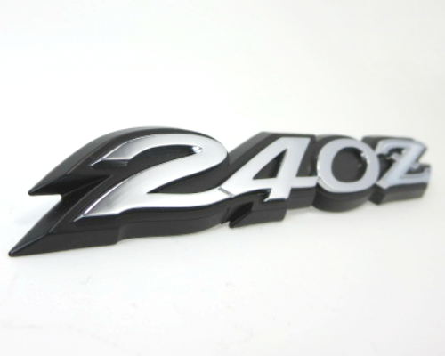 """240Z"" rear hatch emblem for 1969-'73 Datsun 240Z"