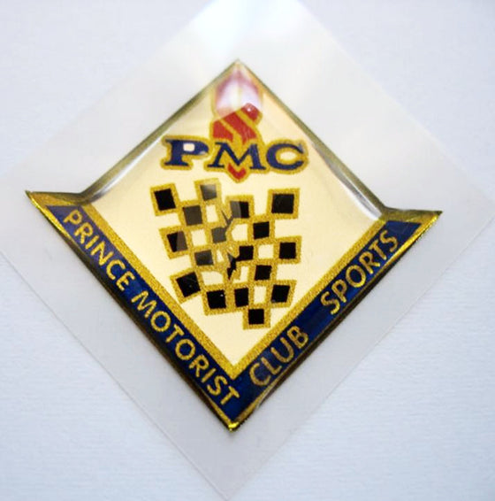 PMC (Prince Motorist Club) decal emblem for Prince cars