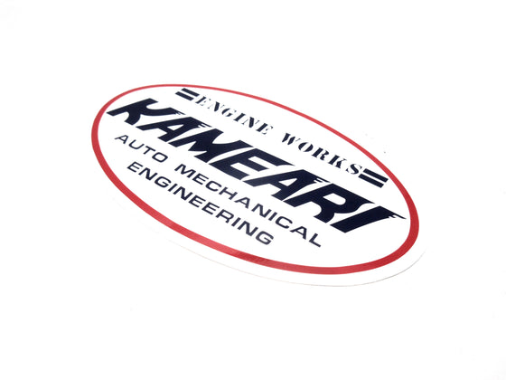 Kameari Engine Works Logo Decal
