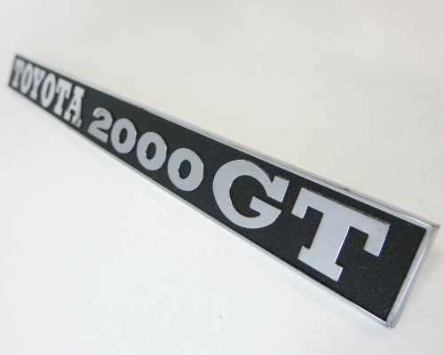 Rear hatch emblem for Toyota 2000GT