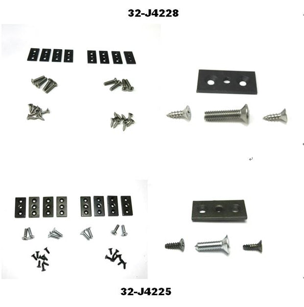 Datsun 240Z 260Z 280Z Headlight Cover Hardware Set