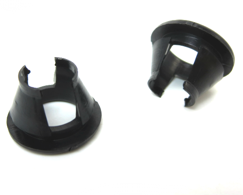 Door lock knob ring set for Datsun 240Z, 260Z, and 280Z