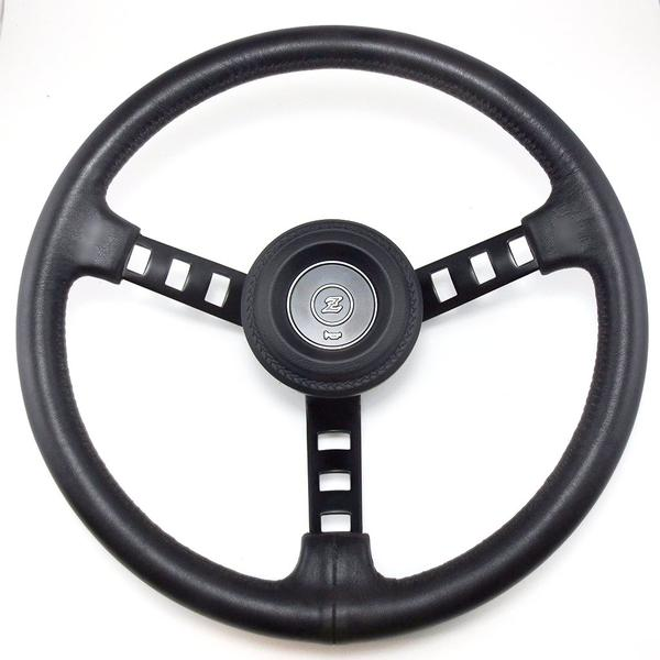 "Datsun competition steering wheel with ""Z"" Horn Pad for Datsun 240Z 260Z 280Z"