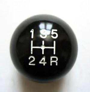 5 Speed Shift knob 8 mm 1.25 for Vintage Japanese cars.