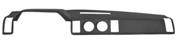 Nissan 300ZX 1984-89 LHD Dash cover Black