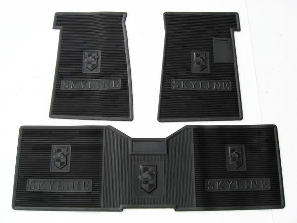 Nissan Skyline floor mat set for Hakosuka / Kenmeri / C210 Japan