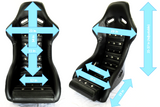 Datsun Competition Racing type high back seat          In Stock Now!