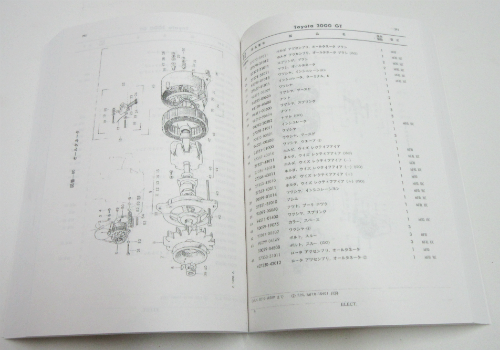 Parts book for Toyota 2000GT