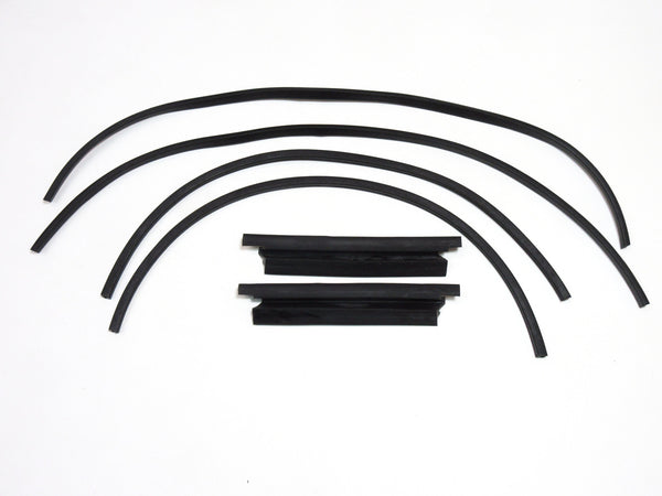 Door vent window weatherstrip set for Toyota Sports 800